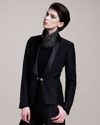 Maison Martin Margiela Shawl-Collar Tuxedo Jacket - Neiman Marcus