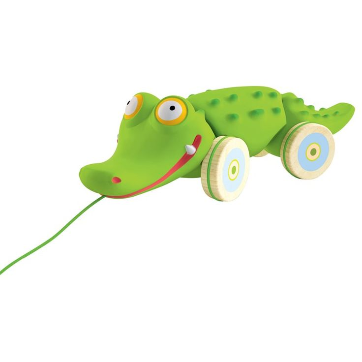 Djeco Croc' n' Roll Pull Along Toy Multi
