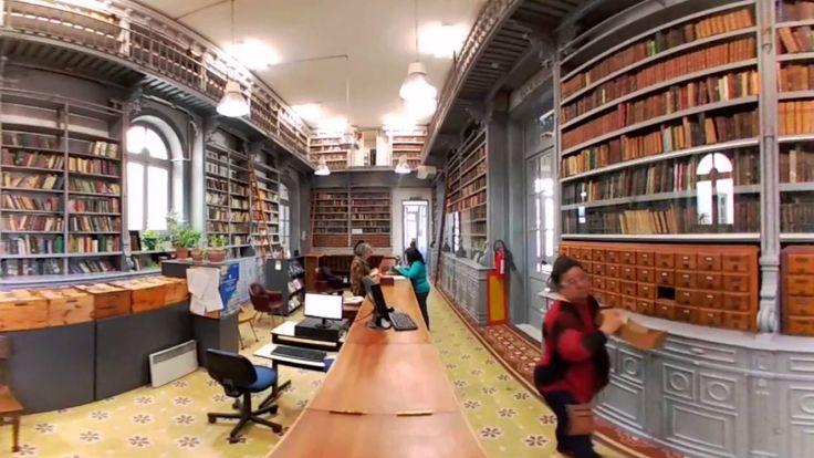 Bibliotecas 360 | Biblioteca Central del Consejo de Educación Secundaria