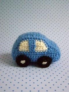 DIY: Hæklet mini bil