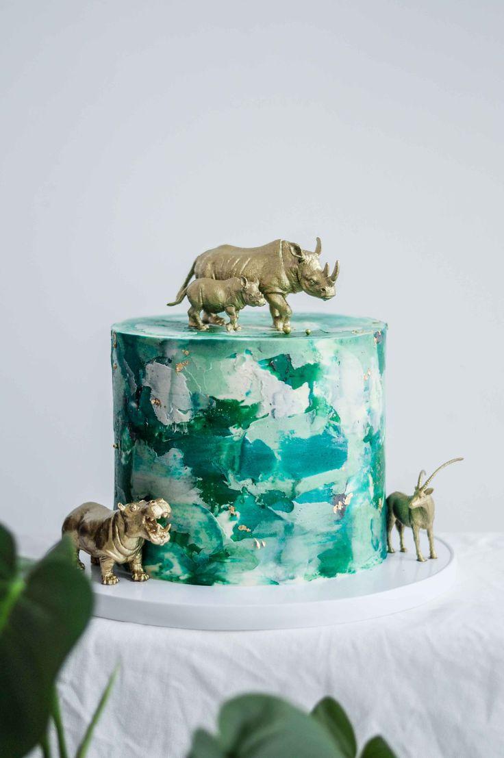 Safari Celebration Cake by LionHeart