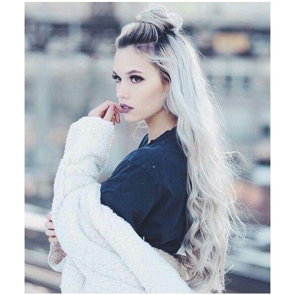 silver white platinum hair