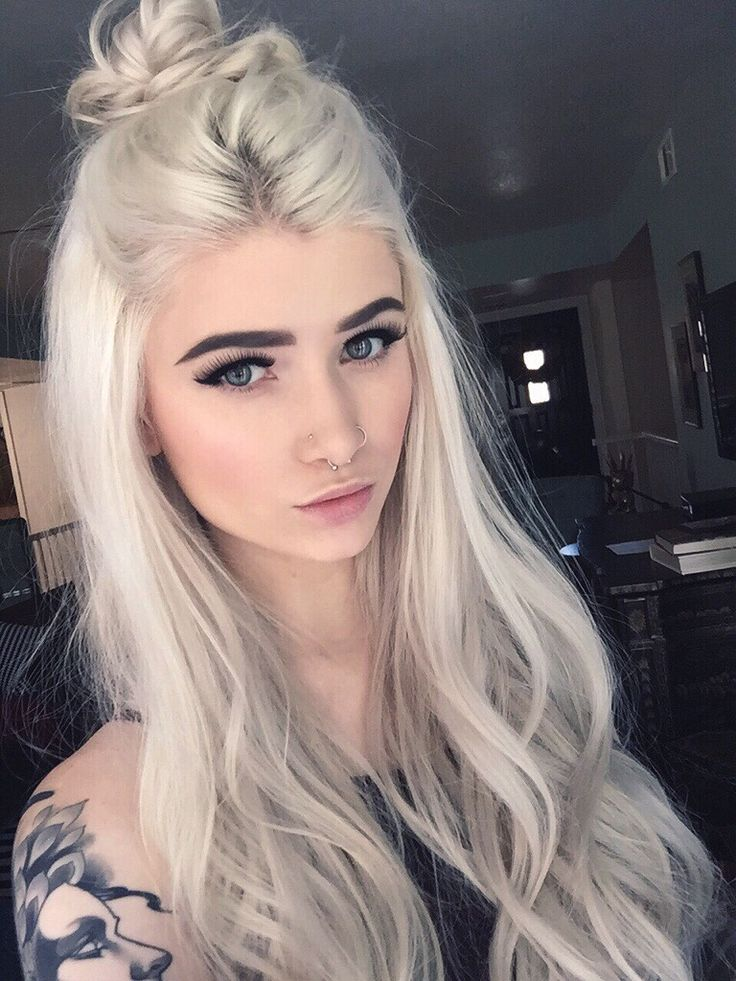 The 25+ best White hair ideas on Pinterest | White ombre, Clothing ...