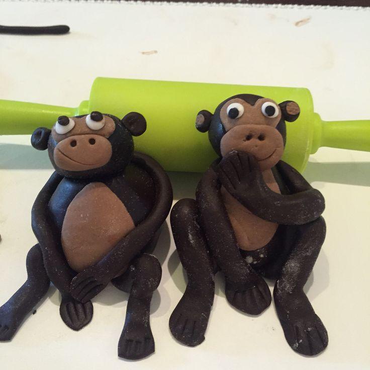 Cheeky Monkey Fondant Model