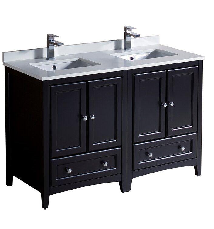 Oxford 48 Double Bathroom Vanity Set In 2020 Traditional