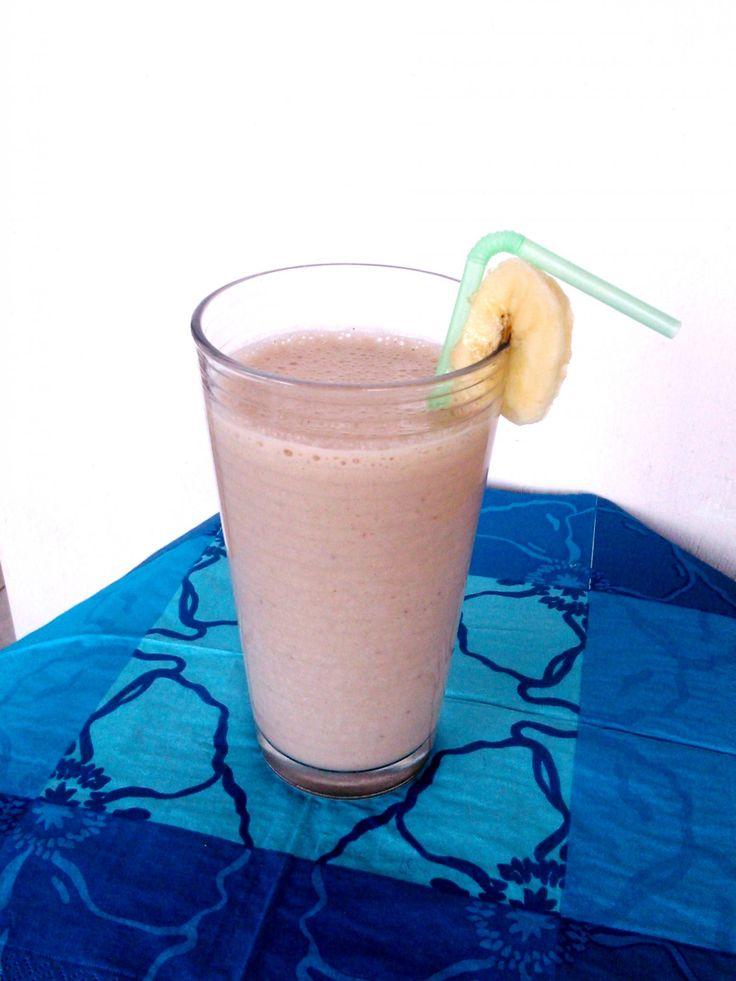 A legjobb banánturmix mézzel, fahéjjal - The best banana shake with honey and cinnamon