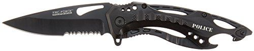 TAC Force TF705 Series Assisted Opening Tactical Folding Knife HalfSerrated Blade  412Inch Closed *** Visit the image link more details. (Note:Amazon affiliate link)