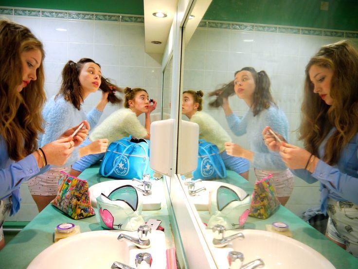 Hufflepuff girls getting ready