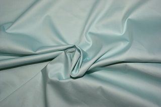 Beautiful soft aqua coloured sateen, made of organic cotton. http://www.purecoverz.nl/Products/181-0-pale-aqua-katoensatijn.aspx