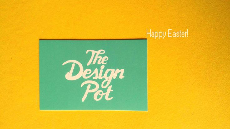 Happy Easter from The Design Pot!