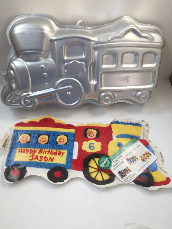 Wilton Train Cake Pan Cake Pans Train Cakes And Etsy