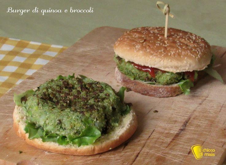 Burger di quinoa e broccoli ricetta vegan il chicco di mais