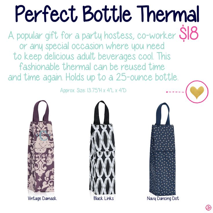 Perfect Bottle Thermal by ThirtyOne. Fall/Winter 2015