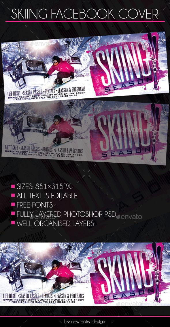67 best facebook banner templates images on pinterest banner skiing facebook cover pronofoot35fo Choice Image