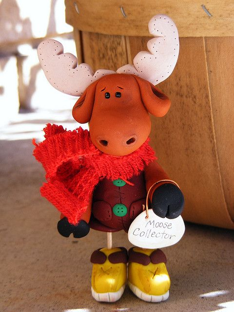 Clay Moose by christylacy, via Flickr