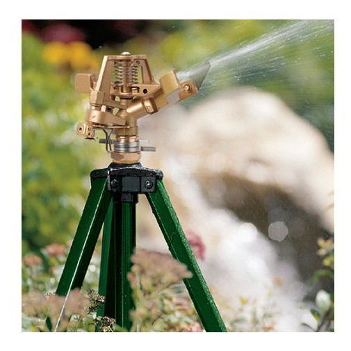 Great for a dry summer.  #Water #Tripod #Sprinkler #Adjustable 360 #Landscape #Grass #Gardening #Planting #Lawn