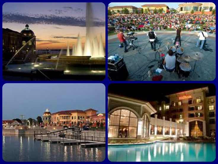 The harbor rockwall Texas includes Hilton Bella and Cinemax theater along with live bands restaurants and shops awesome for date nights with husband he purposed to me here