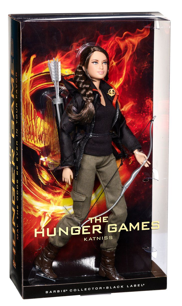 Jessica rabbit special edition doll by disney collectors dolls dark - Hunger Games Katniss Everdeen Barbie Doll Hunger Games By Universe