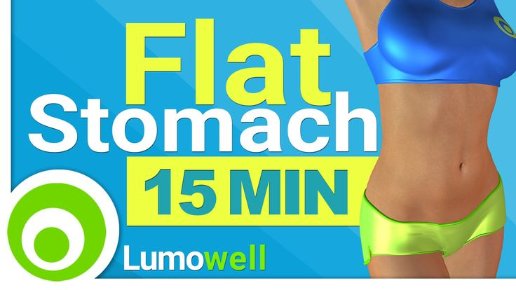 15 Minute Flat Stomach Workout. Standing Abs to Reduce Belly Fat