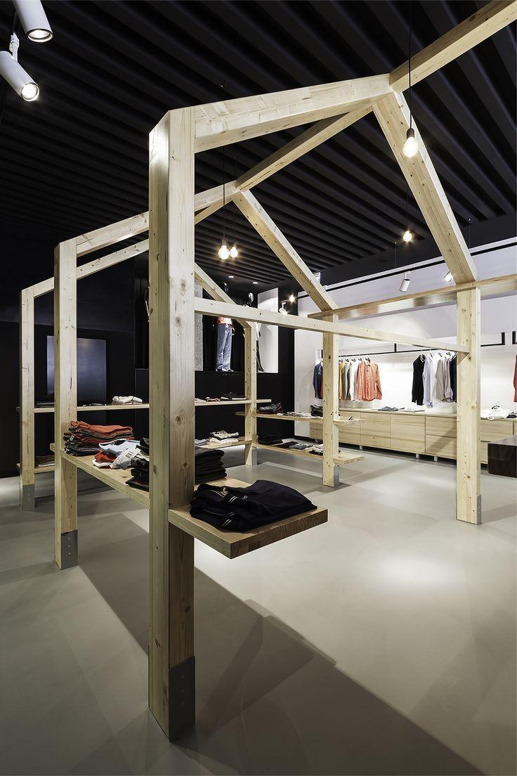 Inshopnia.  Una tienda al por menor - cafetería por NAN Arquitectos