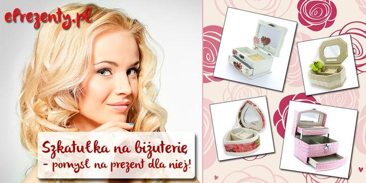 Jeżeli szukacie pomysłu na #prezent dla #kobiety uwielbiającej biżuterię, to mamy dla was rewelacyjną propozycję. Szkatułka na #błyskotki – bo o niej mowa – to bardzo elegancki i dziewczęcy #upominek. Więcej na: http://eprezenty.pl/blog/szkatulka-na-bizuterie/ #szkatułka #biżuteria