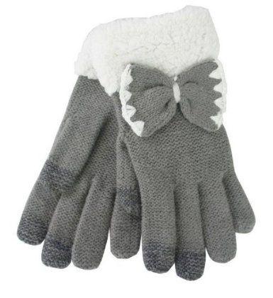 Amazon.co.jp: スマホ用手袋/リボン/LGA0057: 服&ファッション小物