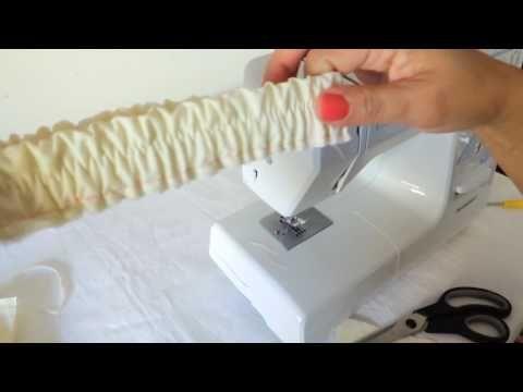 YouTube - Dicas de como preparar cós com elástico ,vale a pena ver.