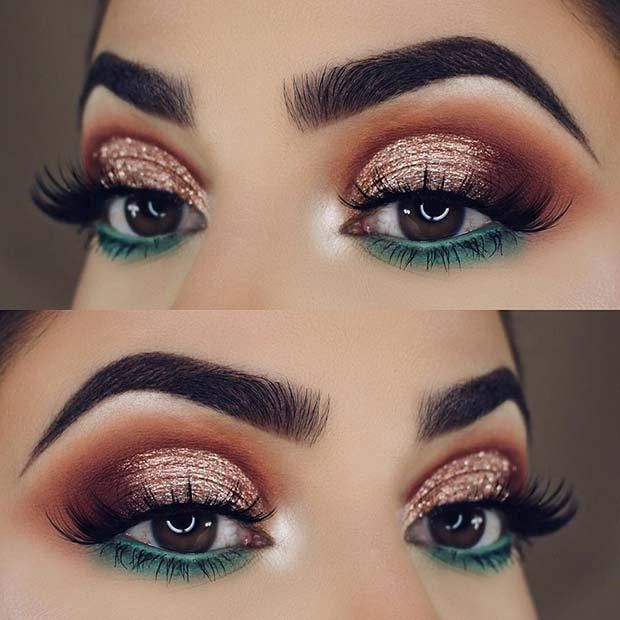 23 Glam Makeup Ideas for Christmas
