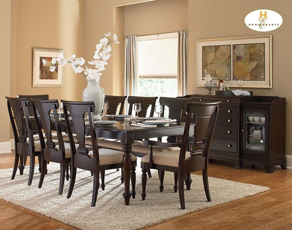 Homelegance 1402 84 Inglewood Dining Room Set