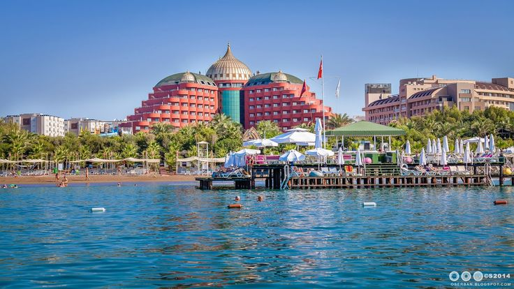 Octavian Serban: Antalya from boat...