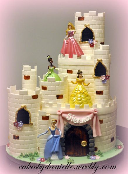 Beautiful Disney Princess Cake