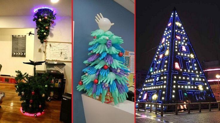 E' un periodo fatto di tante tradizioni ma ci vuole anche un pizzico di originalità: ecco 50 idee di alberi di Natale particolari