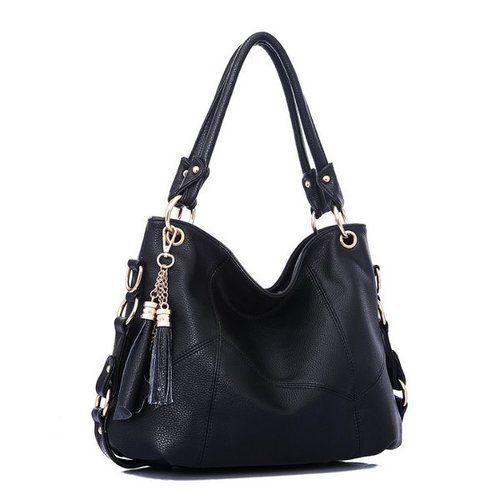 Retro Women Shoulder Bag Crossbody Embossed PU Leather Handbag W/Shoulder Strap