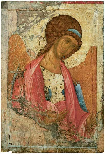 Андрей Рублев(?) Икона из Звенигородского чина. Ок. 1400 г. ГТГ, Москва