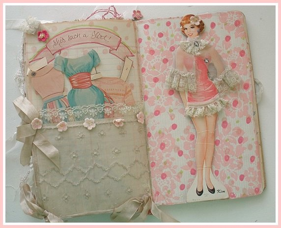 pretty paper doll organizer.....favor?