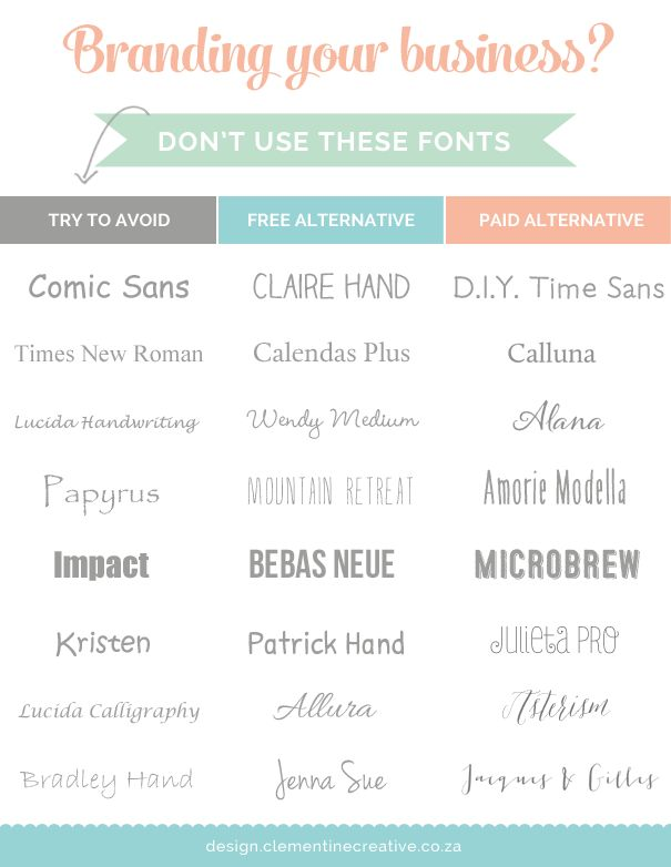 To get your business logo and branding to stand out, use unique fonts. I'll be showing you which fonts to avoid and some free and paid alternatives to use instead.
