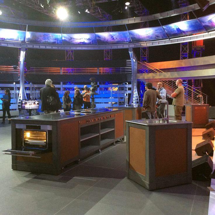 La nostra cucina per il programma televisivo #Thecookingshow