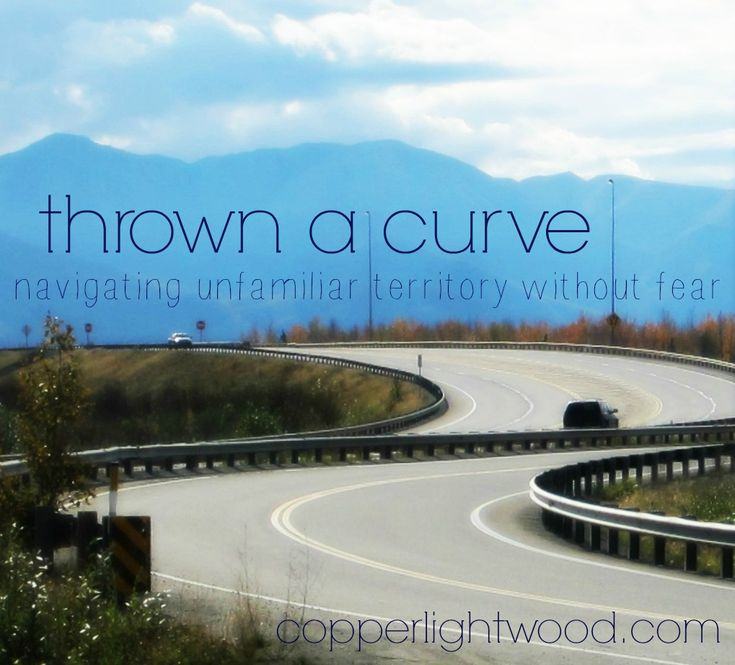 thrown a curve: navigating unfamiliar territory without fear