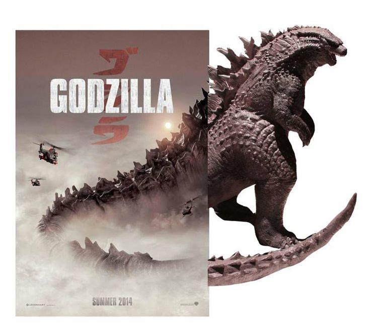 Godzilla Legends: Godzilla 2014 Statue And Face Picture