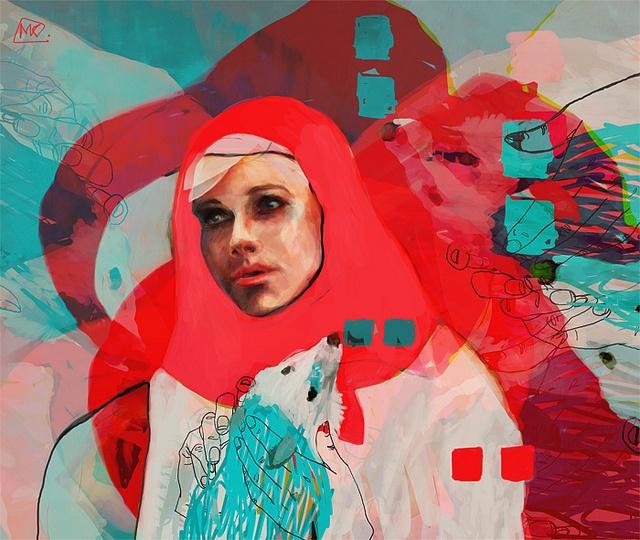 Magdalena kapinos digital paintings