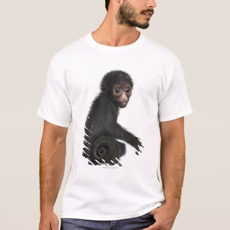 Red-faced Spider Monkey - Ateles paniscus (3 T-Shirt - tap, personalize, buy right now!