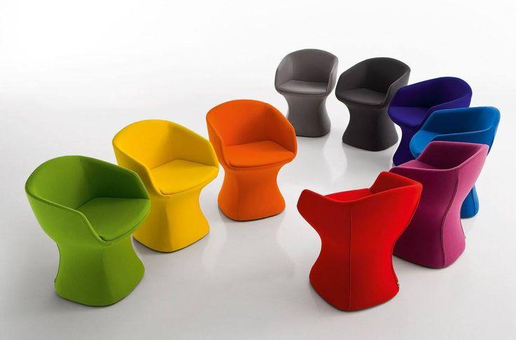 Színes álom fotelek! Tervező: Dario Delphin