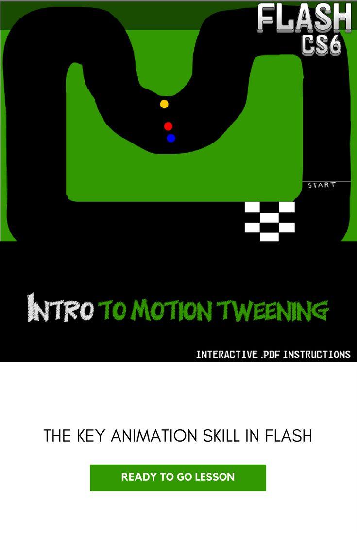 Flash Cs6 Lesson  Intro To Motion Tweening