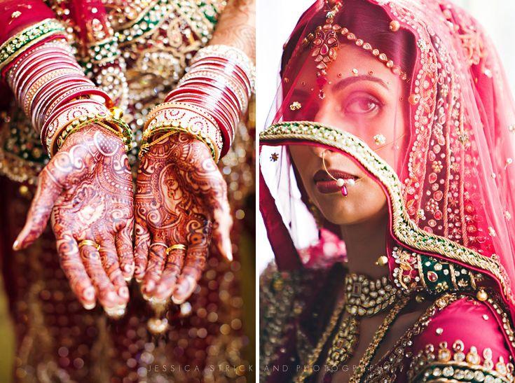 Indian wedding shot by international fine art and wedding photographer, Jessica Strickland.  Gorgeous!