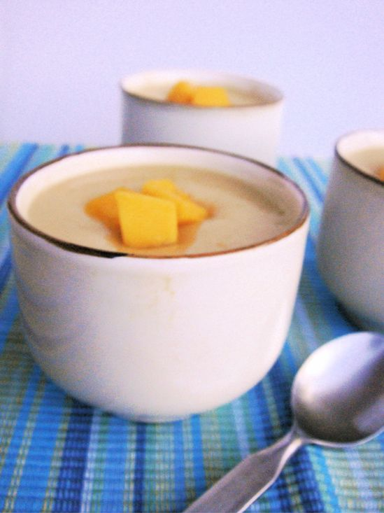 Chinese Mango Pudding | Healthy Malaysian Food Blog & Food Recipes