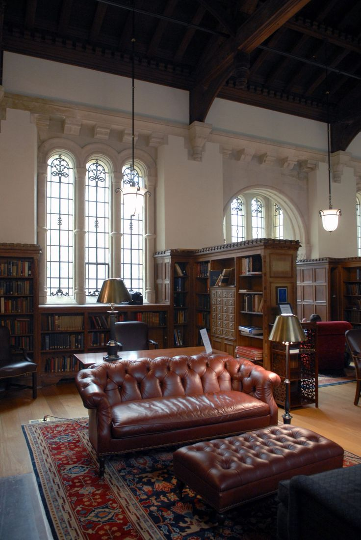 Library At Trumbull College Yale