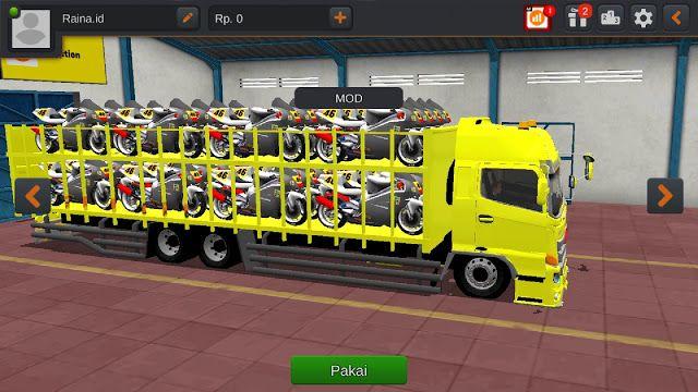 Download 10 Koleksi Mod Bussid Truck Hino Lengkap Truk Besar Konsep Mobil Mobil Futuristik