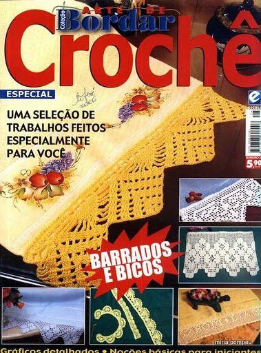 РУКОДЕЛИЕ:ВЯЗАНИЕ,ШИТЬЕ_КРОЙ: #Bordar_Croche