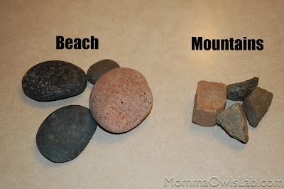 Do your kids like to collect rocks everywhere they go?  Turn it into a lesson on weathering and erosion!