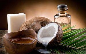 Maschera idratante per capelli al olio di cocco